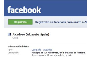 Alcadozo en facebook